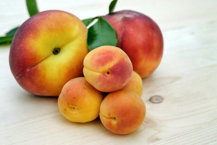 Pirsich-Melonenkonfitire-einkochen